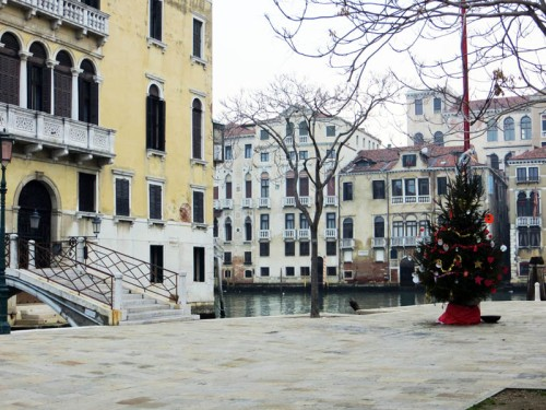 A little Christmas touch in Venice, 2012