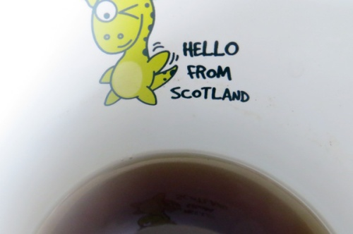 Hello from Scotland mug