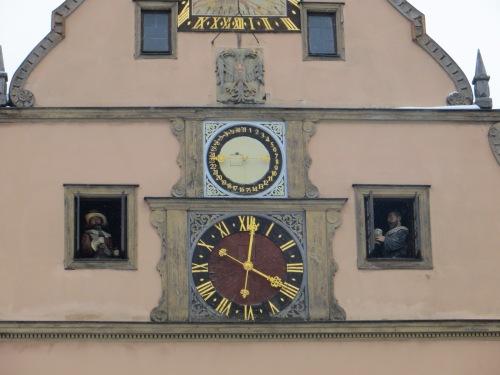 Rothenburg clock man