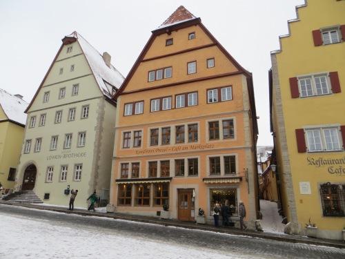 Rothenburg cafe