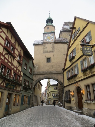 Rothenburg gate