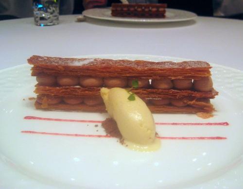Dessert at Onyx, Budapest