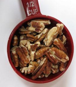 half-cup of pecans